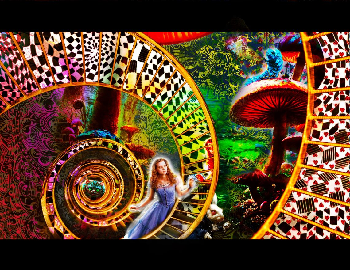 Down The Rabbit Hole – Through The Looking Glass