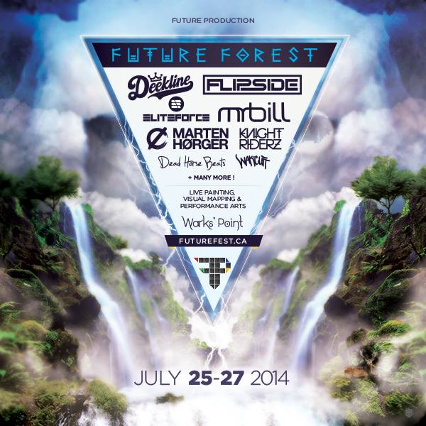 Future Forest festival – Wark's Point, New Brunswick