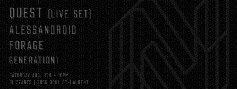 North Of Nowhere Records 1 Year Anniversary with Quest (Live) | Alessandroid | Forage | Generation1