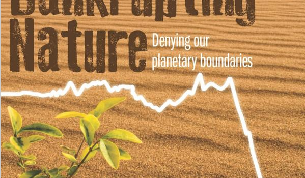 Bankrupting Nature; Denying Our Planetary Boundaries